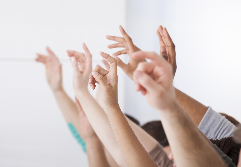 Students Hands up vote