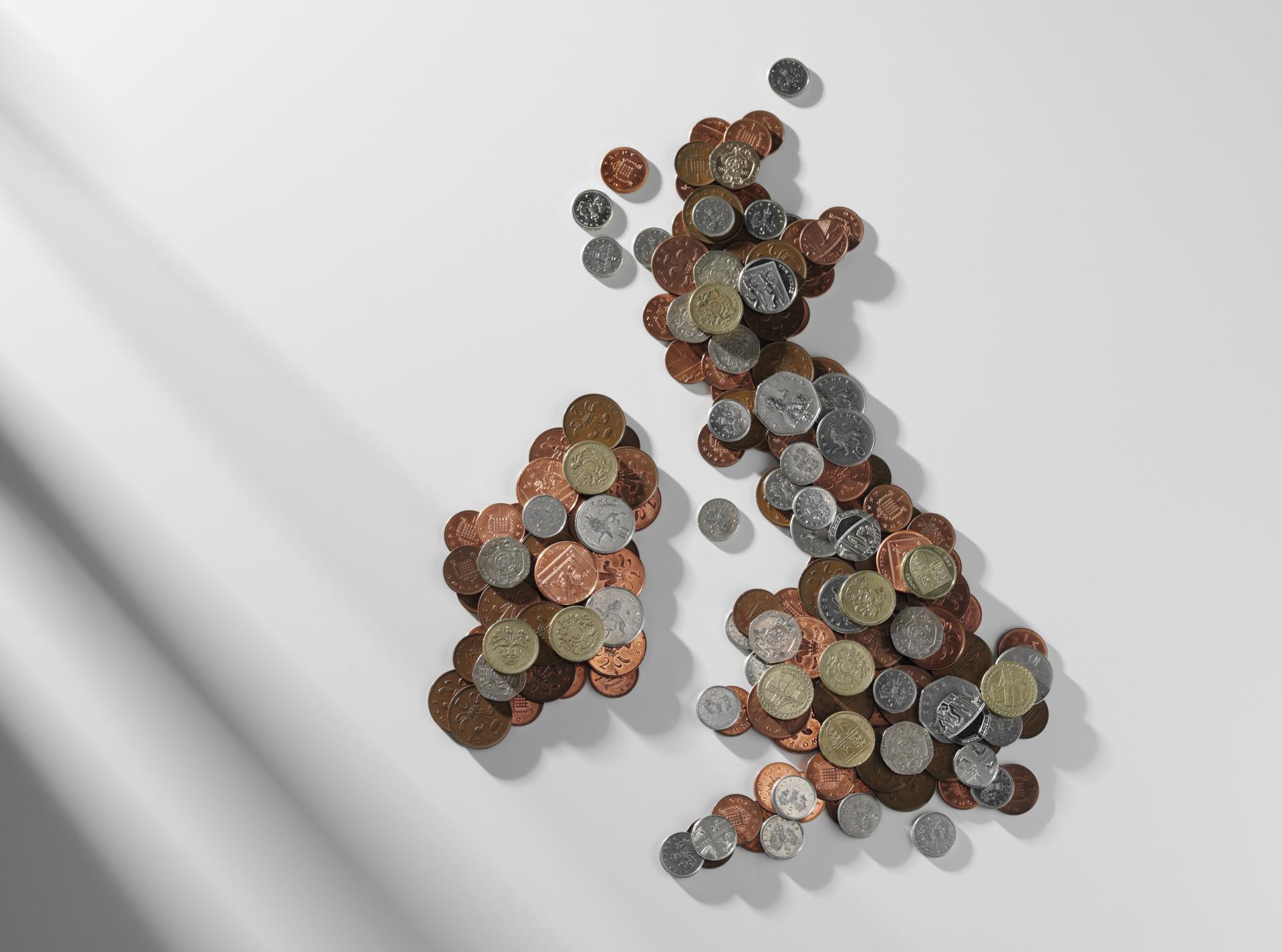 pound sterling money UK