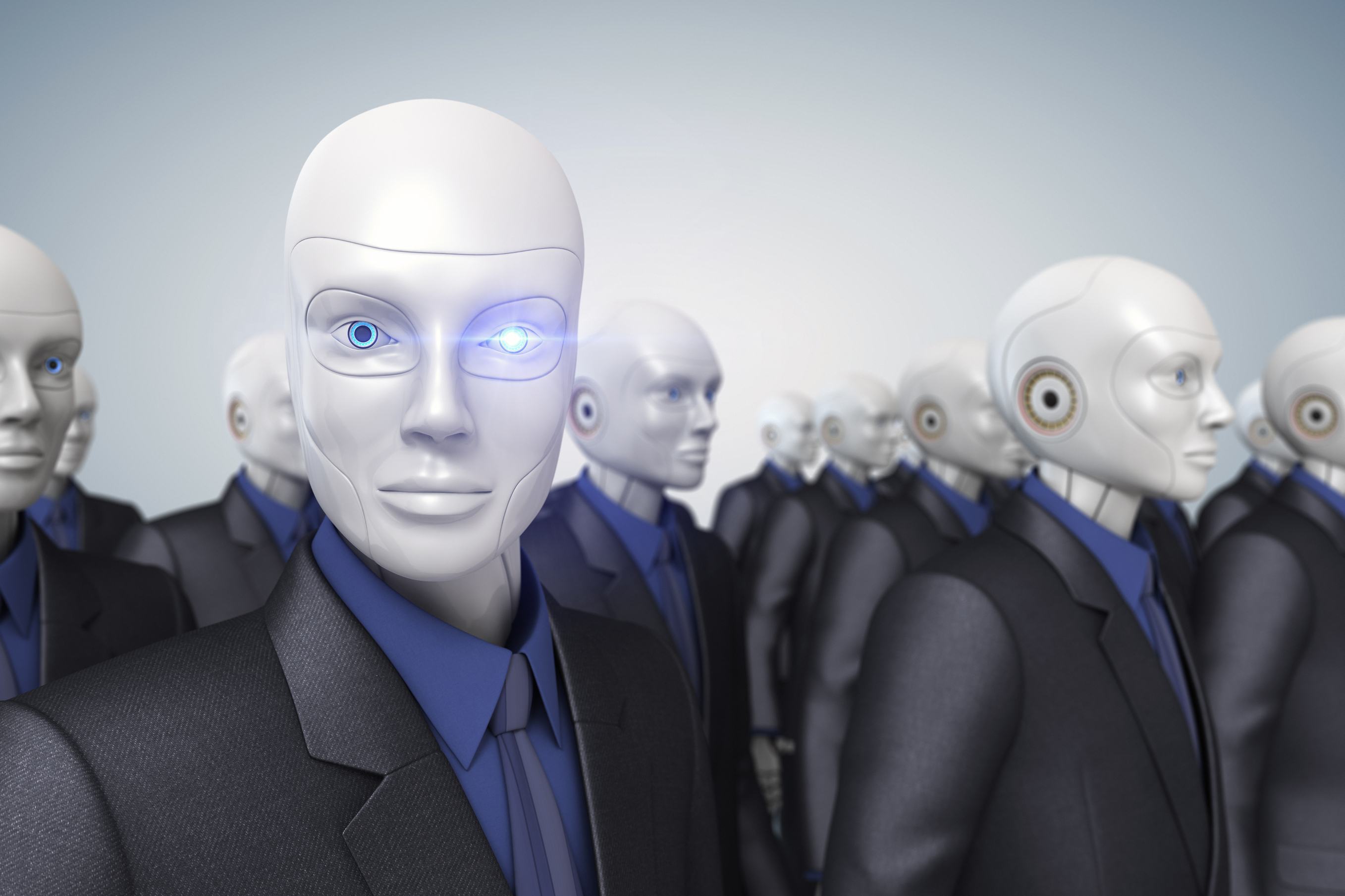 Robot, AI, cyber, artificial intelligence
