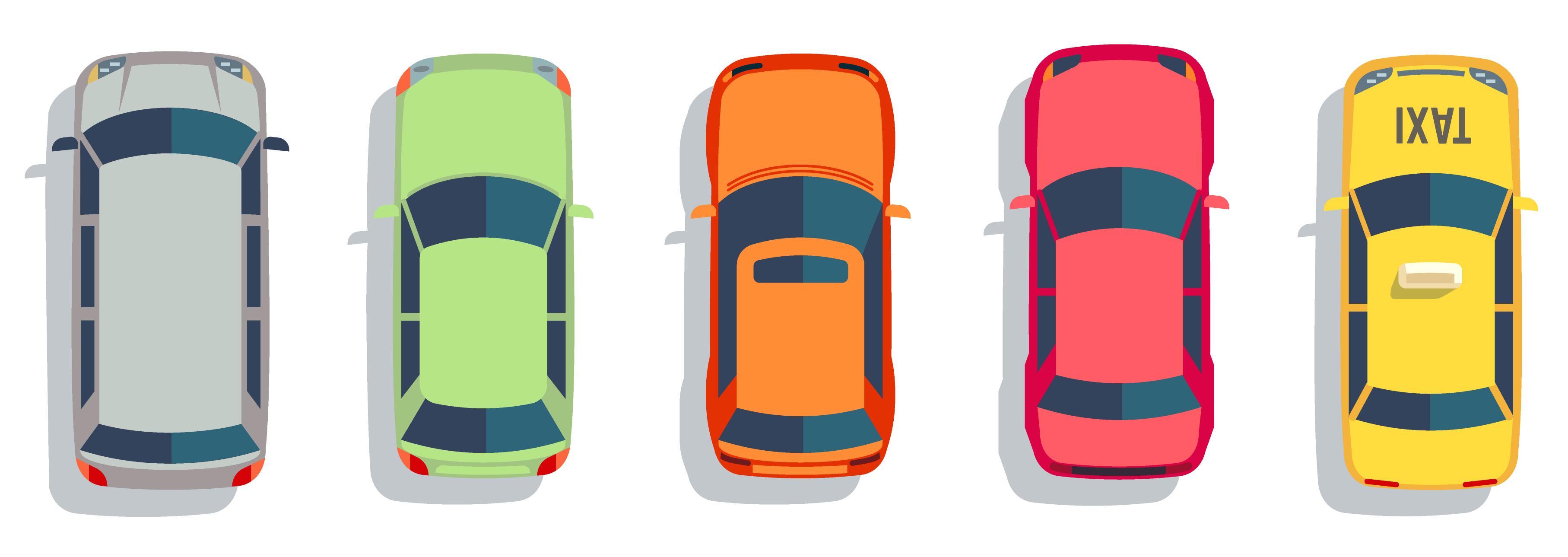 Cars, trucks, Uber, taxi