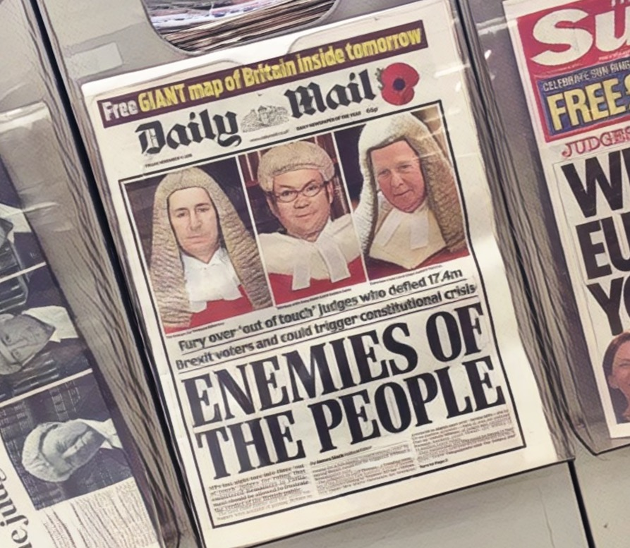 Enemies of the people?