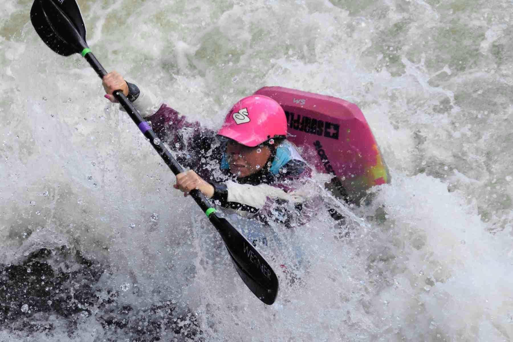 kayak, rowing