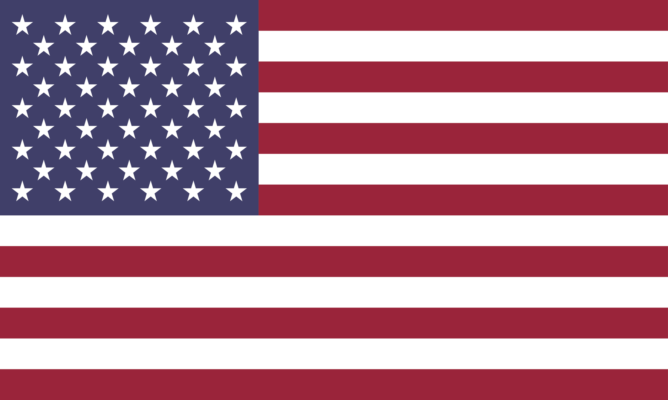 Stars and stripes, United States of America