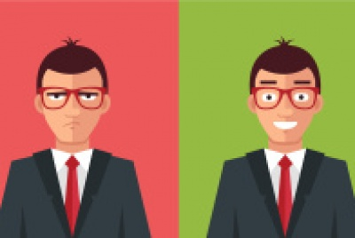 stock-illustration-80080407-happy-and-angry-man-vector-flat-illustration