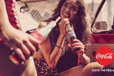 Coca-Cola hopes that the new campaign will make consumers more aware of its lower or no sugar options.