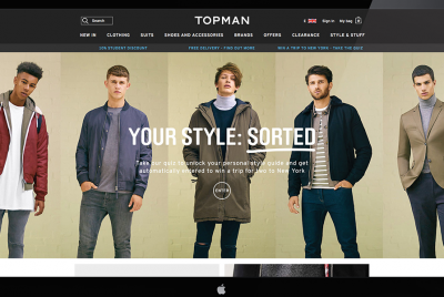 Topman programmatic advertising