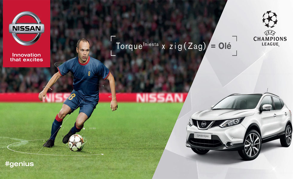 Nissan Champions League campaign.
