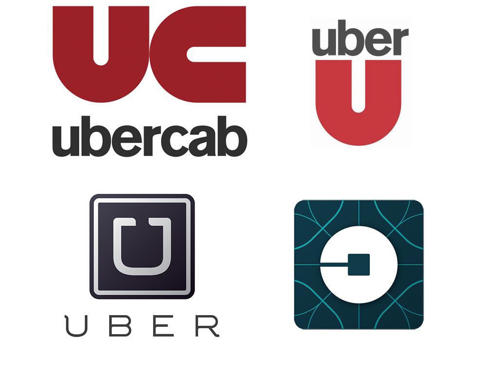 Uber logo evolution