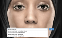UN Women search autocomplete