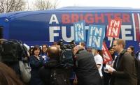 EU Remain campaign bus