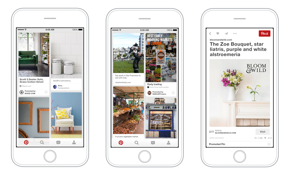 Pinterest Open For Business As It Launches Advertising In The UK