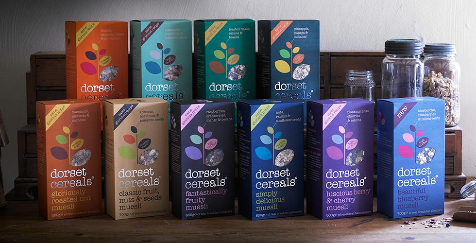 Dorset cereals range