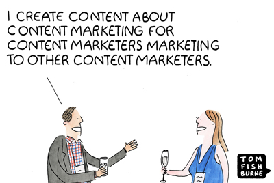 The Marketing Echo Chamber, Marketoonist