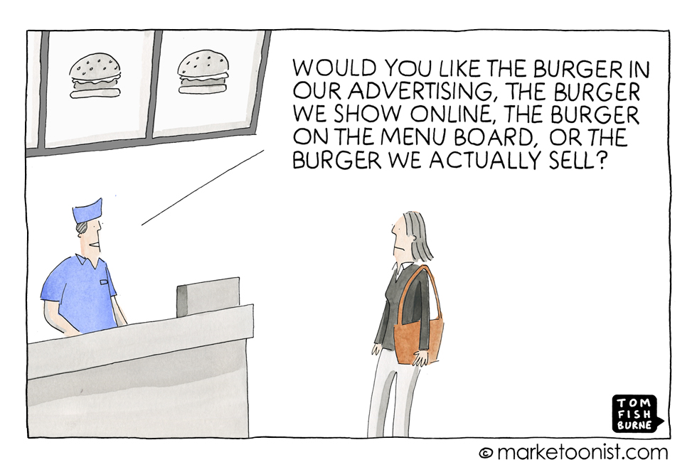 Product Choices, Marketoonist
