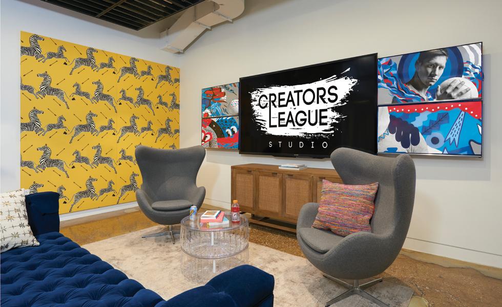 Pepsi Creators Lounge