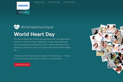 Content marketing is helping Philips to establish itself as a thought leader in healthcare