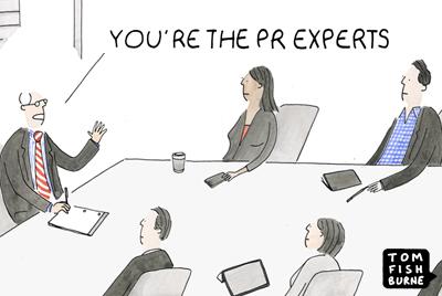 Spinning a PR crisis