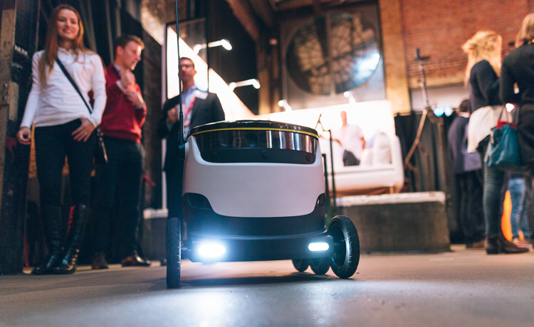 Just Eat delivery robot
