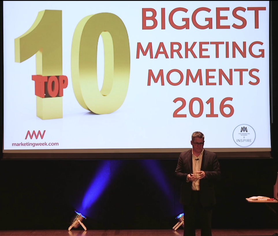 The Top 10 Viral Moments Of 2016: Watch Mark Ritson's Take On 2016's Biggest Marketing Moments