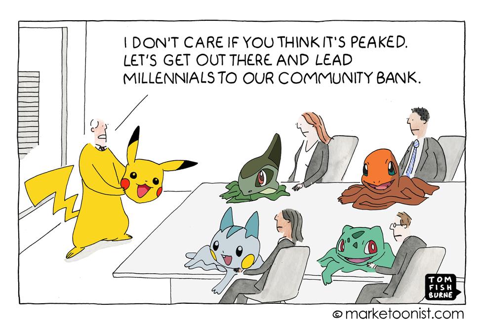 Pokémon Go and the perils of following a fad
