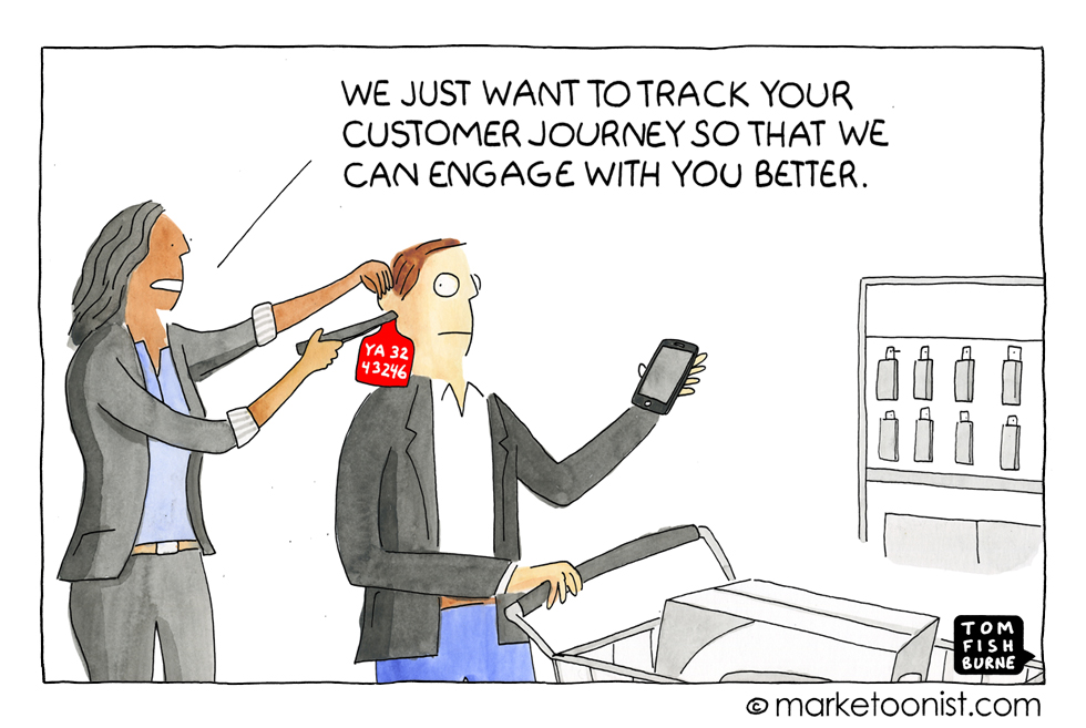 Tracking the customer journey