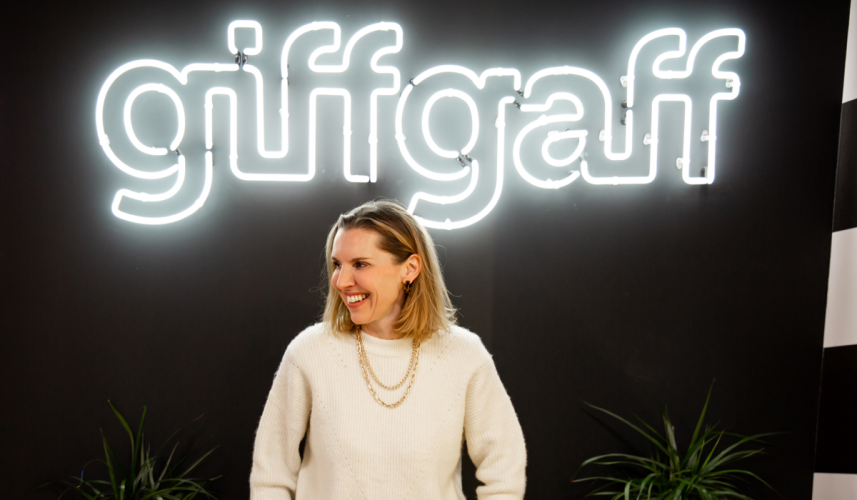 giffgaff cmo sophie wheater