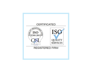 ISO 22301 accreditation