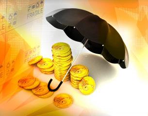 Money and umbrella - thumbnail