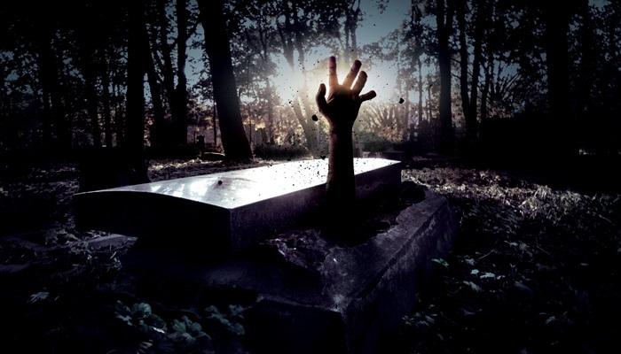 Grave, coffin, death