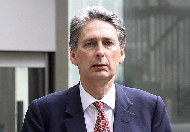 LONDON, ENGLAND - MAY 07: Philip Hammond, the Conservatives Shadow Chief Secretary to the Treasury, arrives at the Conservative party headquarters on May 7, 2010 in London, England. After 5 weeks of campaigning, including the first ever live televised Leader's Debates, opinion polls suggest that the UK is facing the prospect of a hung parliament for the first time since 1974. (Photo by Oli Scarff/Getty Images) *** Local Caption *** Philip Hammond