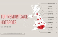 Scottish Widows map of remortgaging hotspots in UK