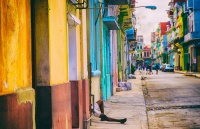 Colorful streets of Havana