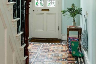 floor tiles hallway