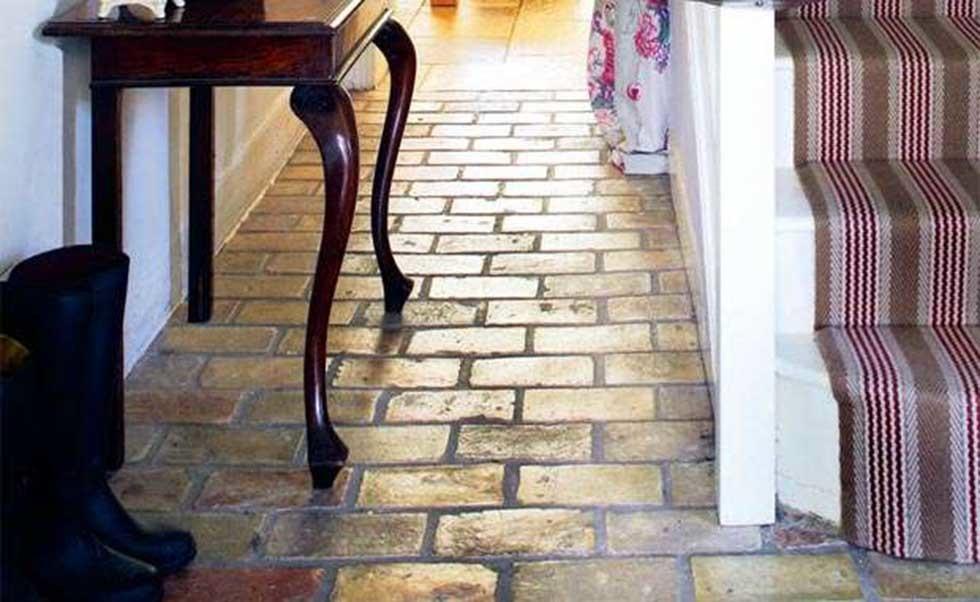 stone floors hallway