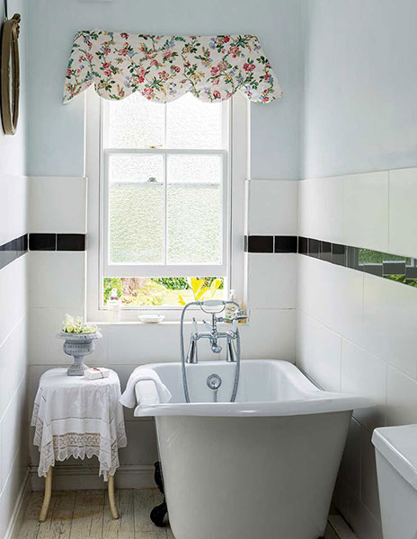 Bathroom Tiles Traditional choosing the right size tiles for a small bathroom - period living