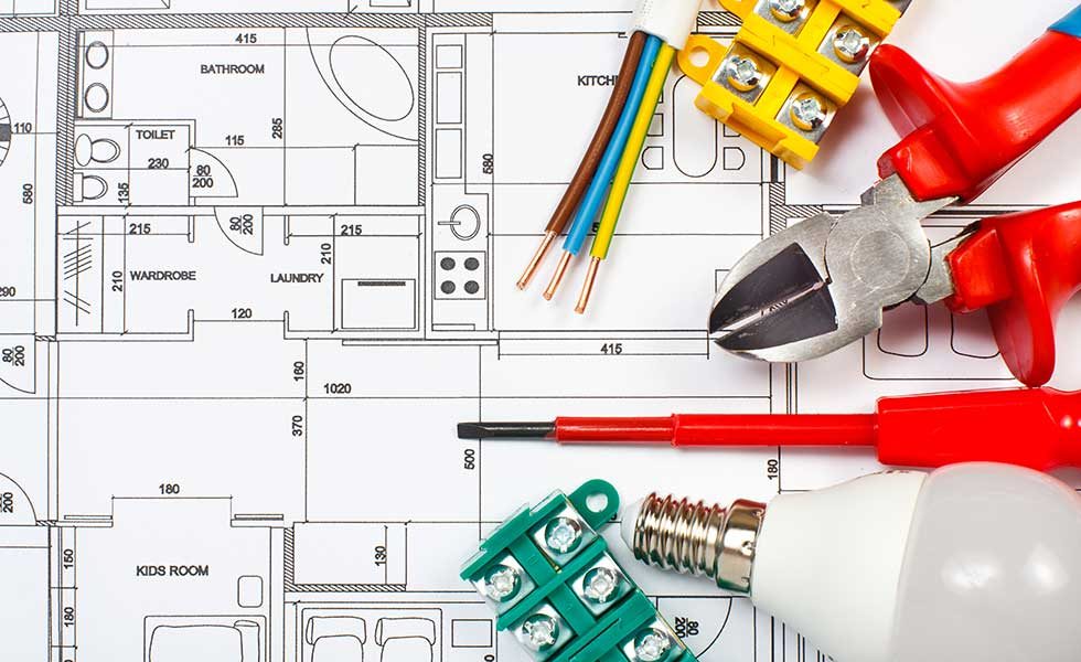 Electrical home plan