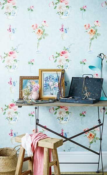wallpaper firle Elizabeth Ockford
