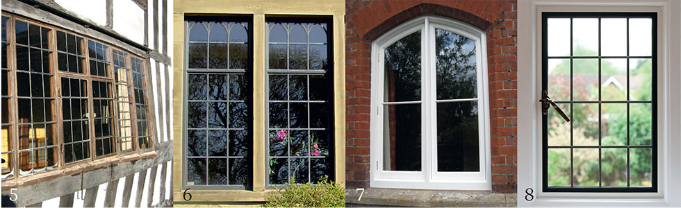 Different types of casement windows