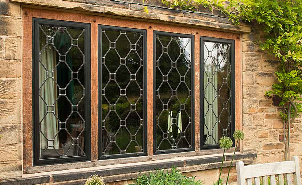 Clement leaded windows