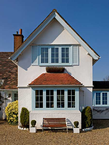 Jack Brunsdon redwood flush casement windows