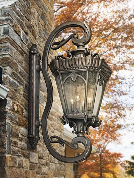 outdoor lighting kichler tournai grand wall lantern moonlight designs
