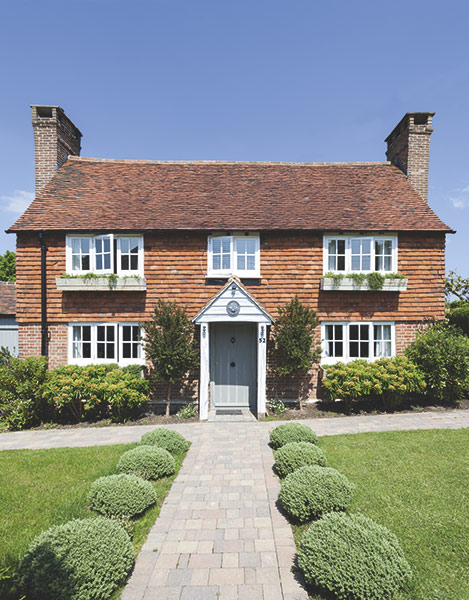 grade II listed 18th century home