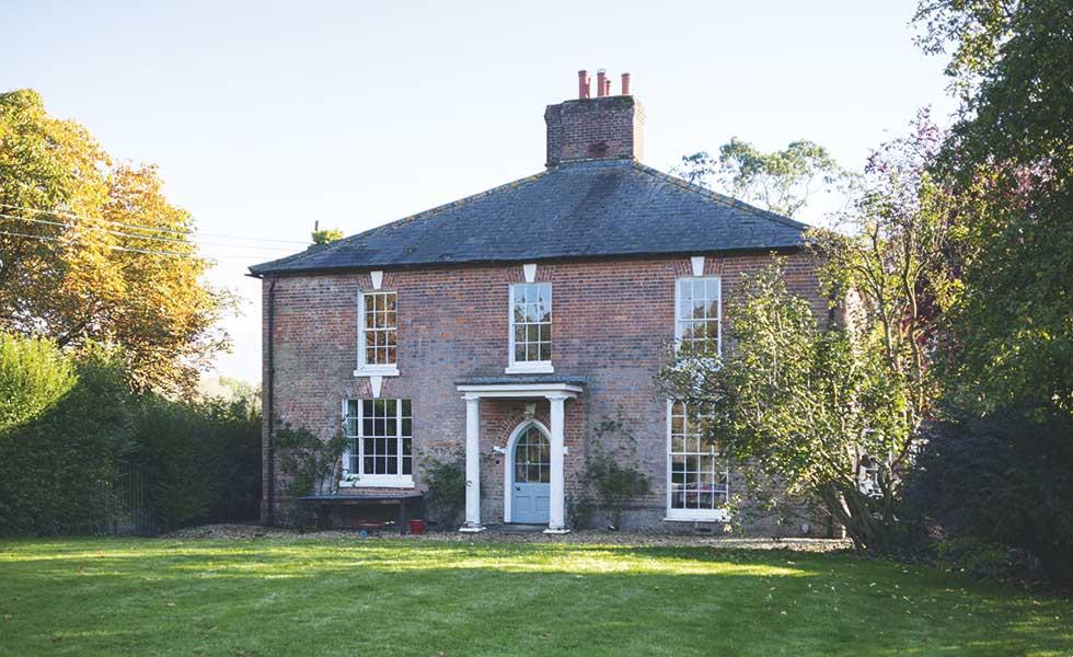 grade II listed gerogian farmhouse