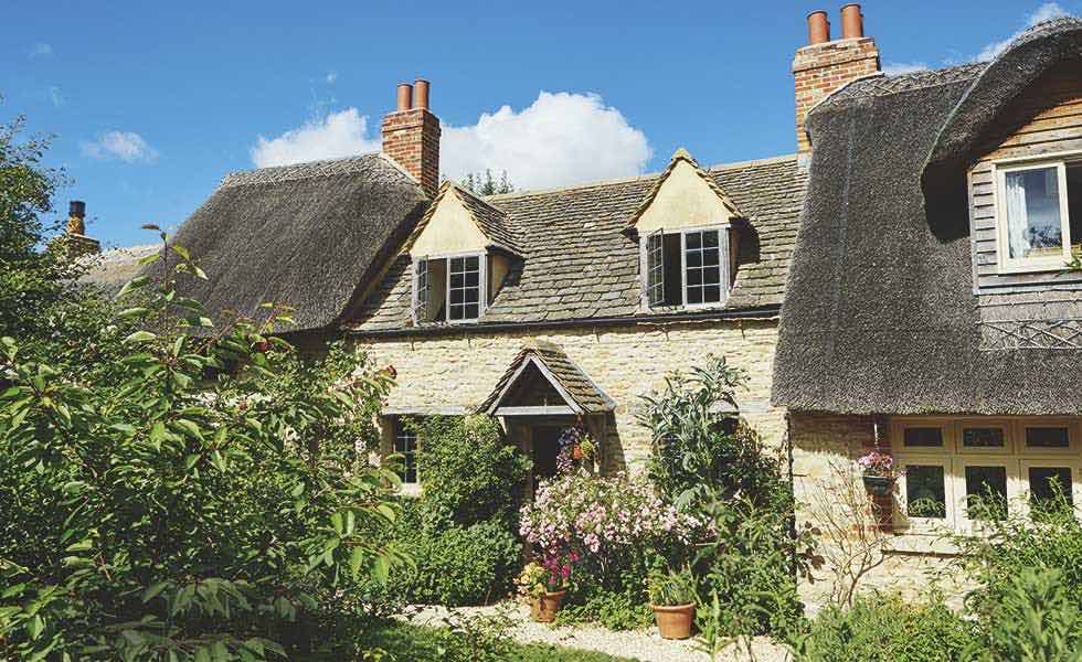 listed thatched cottage