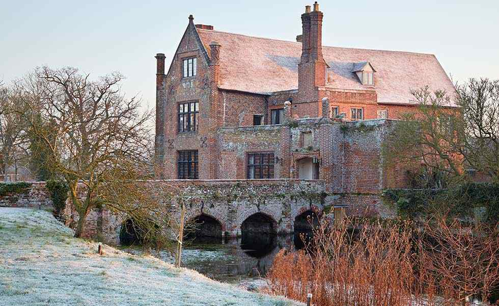 16th century moated manor house grand period homes