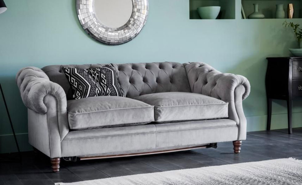 Algernon three-seater sofa bed