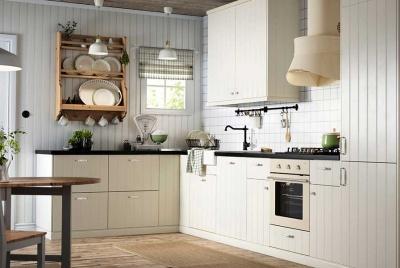Ikea's Hittarp Scandinavian-style kitchen