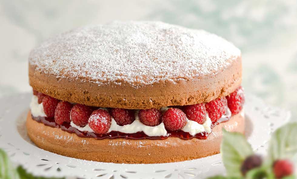 Victoria sponge pudding