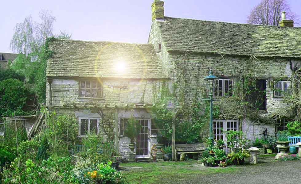 The Ancient Ram Inn in Wotton-under-Edge, Gloucestershire, sits on an ancient pagan site