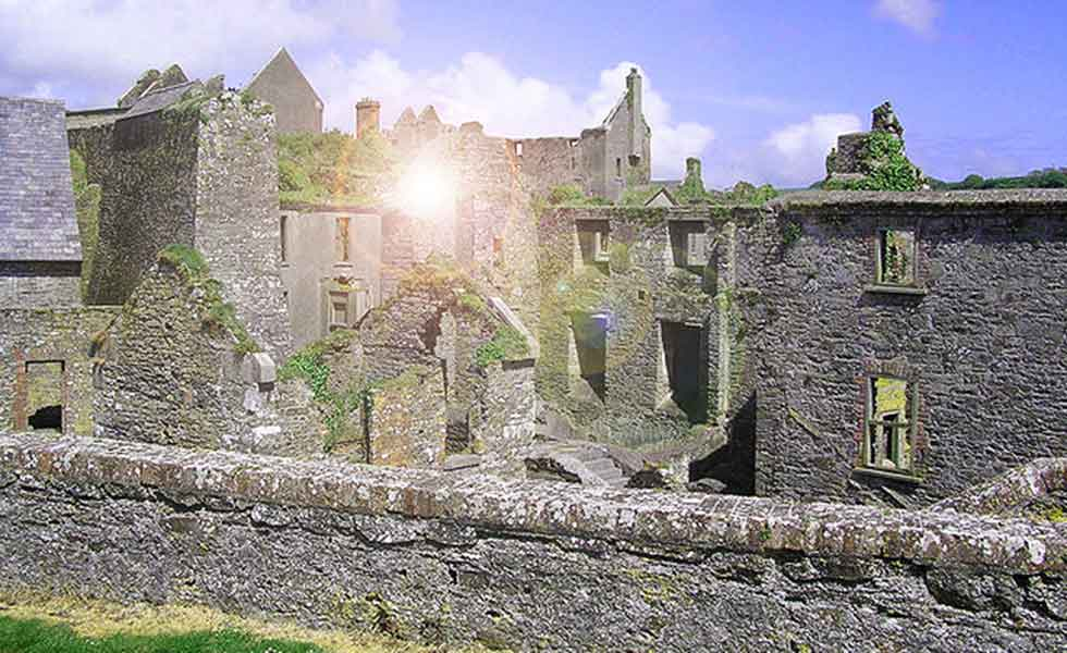 Charles Fort in Kinsale, County Cork, is haunted by the White Lady of Kinsale